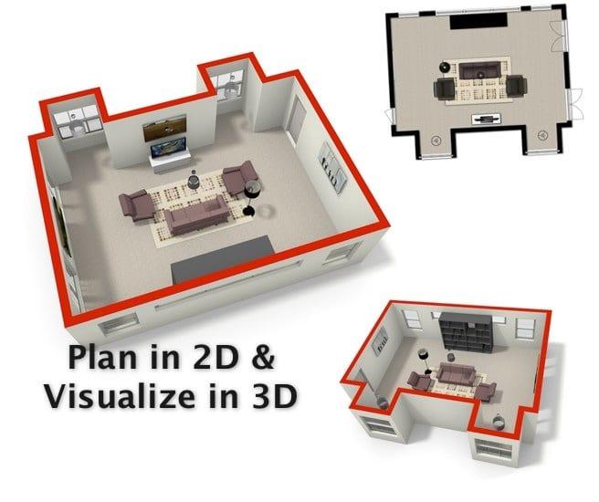 3D Plan Images