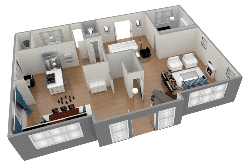 Beau 3D FloorPlans