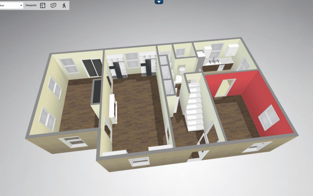 New! 3D FloorPlans!
