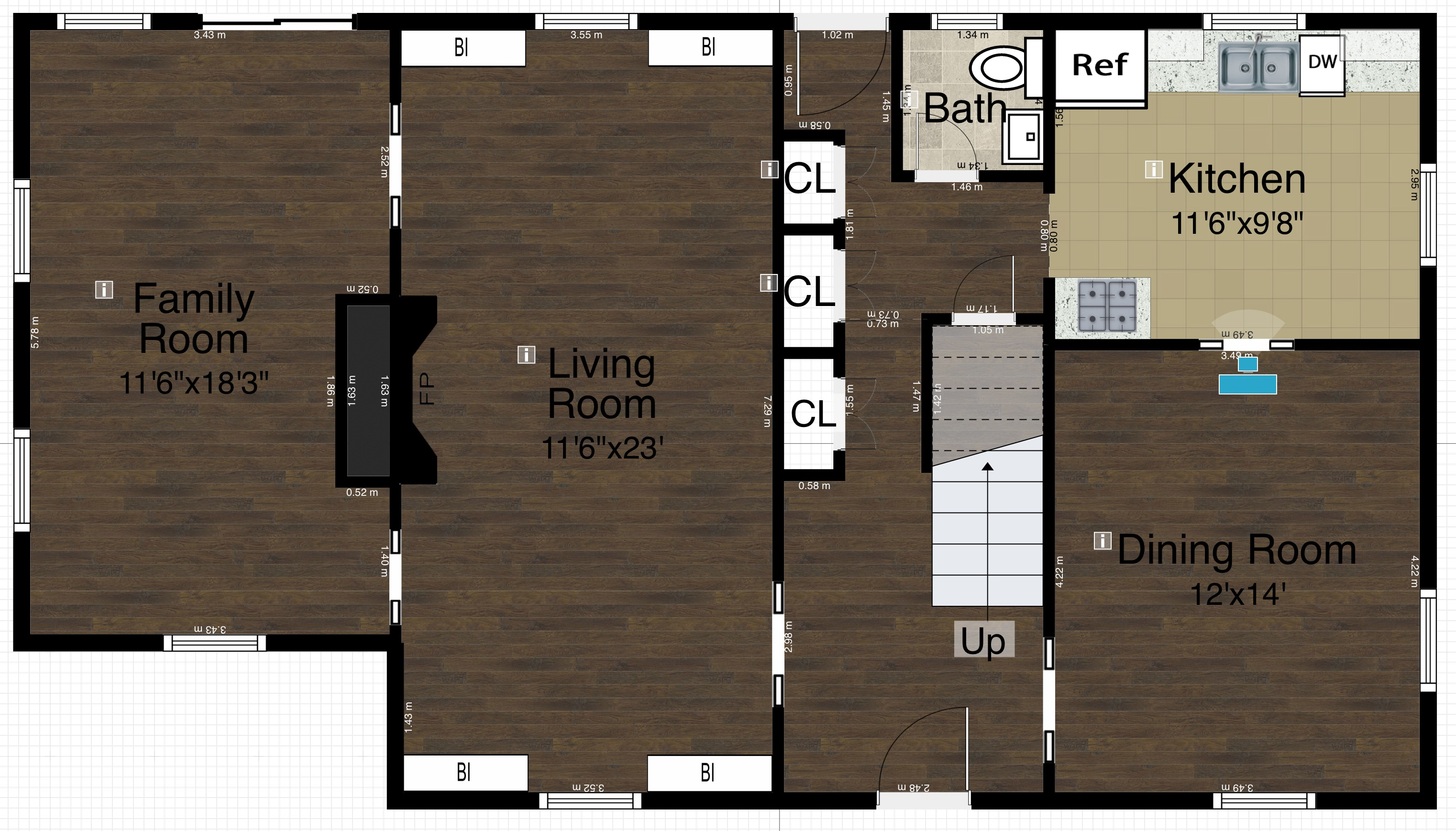2D FloorPlan View