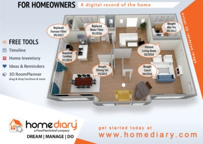 HomeDiary for Homeowners